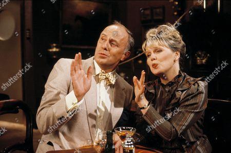 'Only When I Laugh' TV - 1982 - Dr. Gordon Thorpe [Richard Wilson] and Hilary [Patricia Brake]