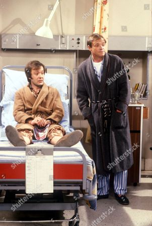 'Only When I Laugh' TV - 1980 - Norman [Christopher Strauli], Figgis [James Bolam]