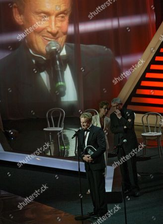 Polish Actor Daniel Olbrychski Receives the Stanislavsky 'I Believe' Prize at the 29th Moscow Film Festival Russia 30 June 2007
