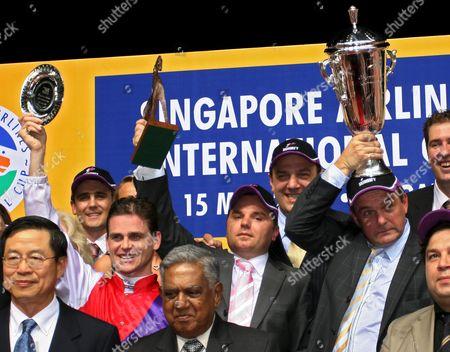 Editorial photo of Singapore Horse Racing - May 2005