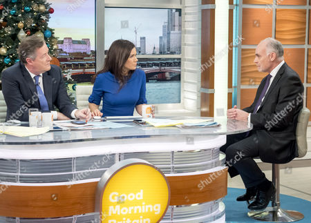 Piers Morgan and Susanna Reid with Crispin Blunt