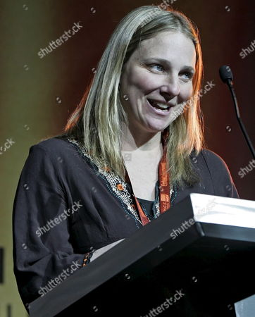 Director Cynthia Wade Receives a Special Jury Prize For Short Film Making For the Movie 'Freeheld' at the 2007 Sundance Film Festival Awards Night in Park City Utah Saturday 27 January 2007