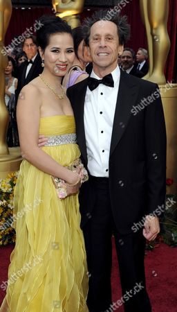 Chau-giang Thi Nguyen (l) and Us Producer Brian Grazer Arrive On the Red Carpet For the 81st Academy Awards at the Kodak Theatre in Hollywood California Usa 22 February 2009 the Academy Awards Honor Excellence in Cinema