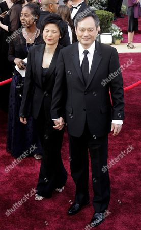 Director Ang Lee (r) and His Wife Jane Lin On the Red Carpet During the 78th Annual Academy Awards in Hollywood California Sunday 05 March 2006