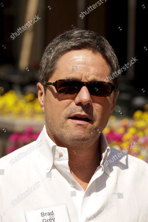 Stock Picture of Paramount Ceo Brad Gray During a Break the Allen and Company Media and Technology Conference Sun Valley Idaho 13 July 2007