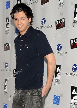 Us Actor Gaelan Connell Attends the 'Bandslam' Event at the Grammy Museum in Los Angeles California Usa 15 May 2009 During the Event Cast Members of the Upcoming Movie 'Bandslam' by Us Director Todd Graff Aly Michalka Vanessa Hudgens and Gaelan Connell Explored the Music Business Through an Interactive Educational Experience with L a County Students