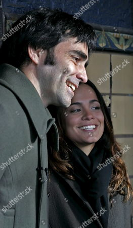 Director Carlos Bolado (l) and Actress Alice Braga (r) Arrive at the Premiere of 'Solo Dios Sabe' Which Opened at the 25th Sundance Film Festival Friday 20 January 2006 in Park City Utah the Festival Will Run in Park City Through 29 January