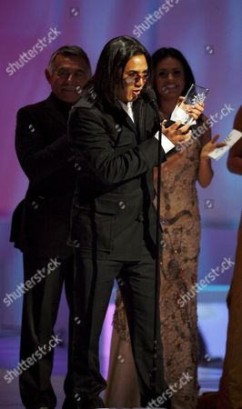 Latin Artist Andy Andy Accepts His Award at the 2006 Latin Billboard Award Show Produced and Broadcast by Telemundo 27 April 2006 at the Seminole Hard Rock Hotel and Casino in Hollywood Florida