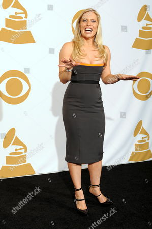 Us Actress Emily Proctor Poses For Photos in the Photo Deadline Room at the 51th Annual Grammy Awards at the Staples Center in Los Angeles California Usa 08 February 2009