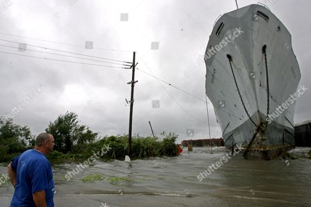 Editorial picture of Usa Hurricane Gustav - Sep 2008