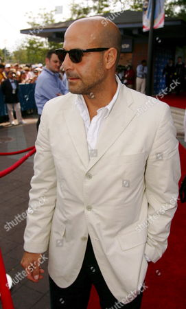 Stock Photo of Us Actor Stanley Tucci Arrives For the Men's Final of the 2005 Us Open Tennis Tournament at the Us Tennis Center in Flushing Meadows New York Sunday 11 September 2005