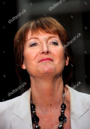 Harriet Harman Deputy Labour Leader Talks to the Press Outside Downing Street in London Britain 05 June 2009 Defence Secretary John Hutton Quit the Government 05 June Although He Says He Will Remain Loyal to Gordon Brown the Resignation Comes After James Purnell Quit As Work and Pensions Secretary with a Call For the Premier to 'Stand Aside' to Prevent Defeat at the Next Election Mr Brown is Reshuffling His Top Team As He Fights For His Political Future