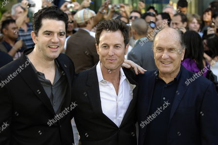 (l-r) Director Aaron Schneider Producer Dean Zanuck and Actor Robert Duvall at the World Premiere of Their Film Get Low at the 34th Annual Toronto International Film Festival in Toronto Canada On 12 September 2009