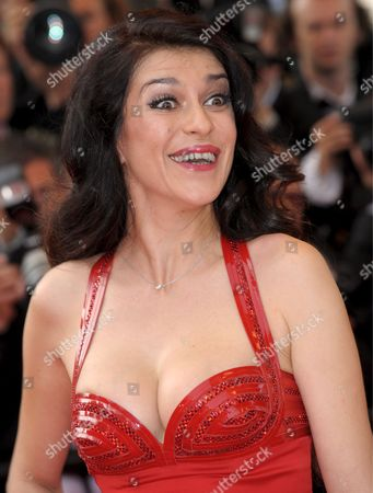 Stock Picture of Actress Jovanka Sopalovic Arrives For the Gala Screening of Pixar's Animation Film 'Up' Running out of Competition in the 62nd Edition of the Cannes Film Festival in Cannes France 13 May 2009