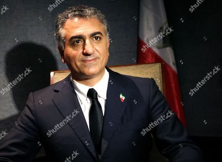 Prince Reza Pahlavi Son of Iate Iranian Shah Mohamad-reza Pahlavi Poses Before a Press Conference at the American Press Club in Paris France 02 July 2009 During the Conference Pahlavi Will Make a Point of the Situation in Iran