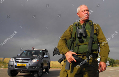 Commander Yoav Galant of the Israel Defense Forces Southern Command