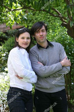 Virginie Ledoyen and Director and star of the film Emmanuel Mouret