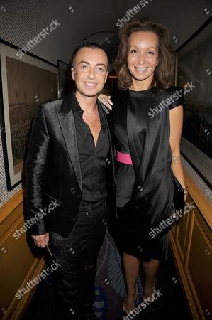 Julien MacDonald and Isabelle de la Bruyere