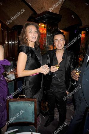 Isabelle de la Bruyere and Julien MacDonald