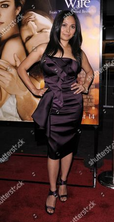 Stock Image of Actress Jane Mclean of Canada Arrives For the Premier of 'The Time Traveller's Wife; at the Zeigfeld Theater in New York New York Usa On 12 August 2009 the Film Opens On 14 August 2009