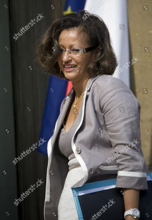 New French Junior Minister For Overseas Territories Marie-luce Penchard Arrives at the Elysee Palace For the First Ministers' Cabinet Meeting Following a Government Re-shuffle in Paris France 24 June 2009 French President Nicolas Sarkozy Announced a Cabinet Reshuffle On 23 June