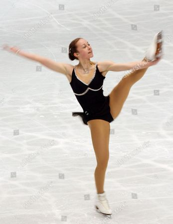 Kimmie Meissner of the United States Performs During Her Short Program at the World Figure Skating Championships in Tokyo Friday 23 March 2007 Meissner Placed Fourth After the Short Program Event