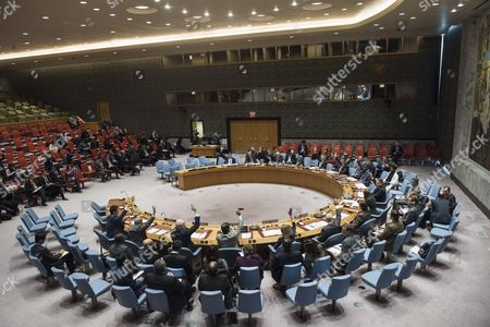 Editorial picture of United Nations Security Council meetings, New York, USA - 19 Dec 2016