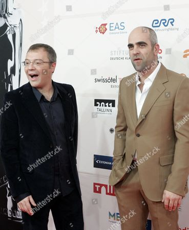 Spanish Actor Luis Tosar (r) and Spanish Film Director Daniel Monzon (l) Arrive at the 23rd European Film Awards Ceremony at the Solaris Centre's Nokia Concert Hall in Tallinn Estonia 04 December 2010 Spanish Actor Luis Tosar is Nominated For the Europan Actor 2010 Award For His Interpretation in the Film Celda 211 (cell 211) the European Film Awards 2010 Are Presented by the European Film Academy in the Estonian Capital On the Baltic Coast in Connection with Its Status As European Capital of Culture in 2011