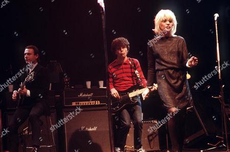 Blondie - Nigel Harrison, Robert Fripp and Debbie Harry