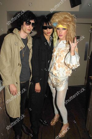 Editorial image of 'Beyond The Rave' film party, Shoreditch House, London, Britain - 16 Apr 2008