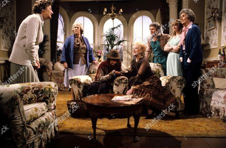 'You're Only Young Twice' Cissie Lupin [Pat Coombs], Flora Petty [Peggy Mount], Gypsy [Gretchen Franklin], Dolly Love [Lally Bowers], Roger [Johnny Wade], Miss Finch [Georgina Moon], Mildred Fanshaw [Diana King]