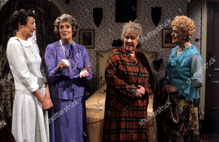 'You're Only Young Twice' Cissie Lupin [Pat Coombs], Mildred Fanshaw [Diana King], Flora Petty [Peggy Mount], Dolly Love [Lally Bowers]
