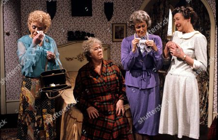 'You're Only Young Twice' Dolly Love [Lally Bowers], Flora Petty [Peggy Mount], Mildred Fanshaw [Diana King], Cissie Lupin [Pat Coombs]