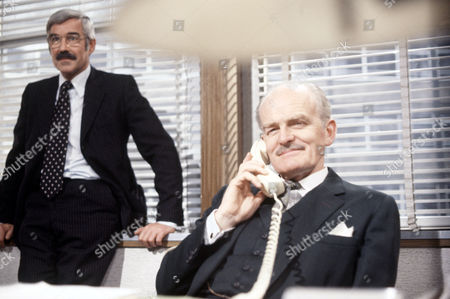 'The Foundation'   TV Michael Craig and John Barron