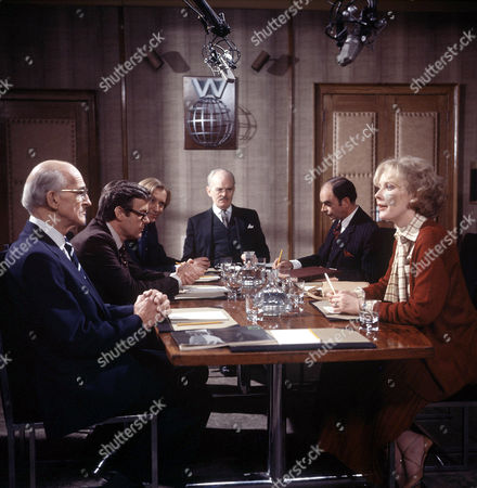 'The Foundation'   TV John Barron and William Gaunt Behind Scenes
