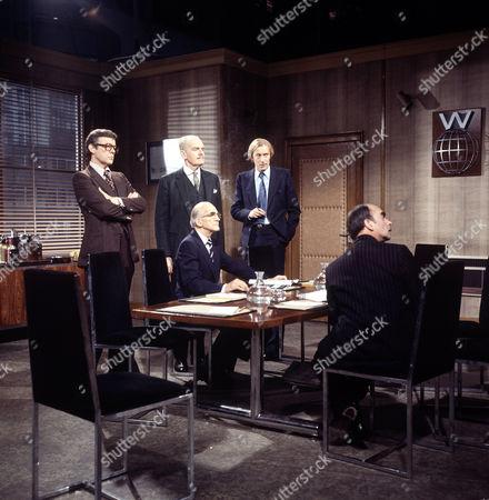 'The Foundation'   TV William Gaunt, John Barron and Ellis Dale