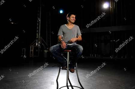 Stock Image of Scottish Comedian Danny Bhoy Poses For a Photograph at the Enmore Theatre Sydney Australia 10 January 2011 Bhoy is in Australia to Promote His Latest Comedy Tour Which Starts in Adelaide On 11 February