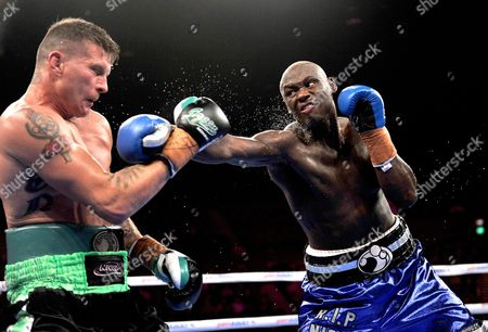 America's Antonio Tarver (right) Lands a Punch On Danny Green of Australia During Their Ibo Cruiserweight Title Fight in Sydney Australia On Wednesday July 20 2011 Tarver Defeated Green to Become the New Ibo Cruiserweight Champion