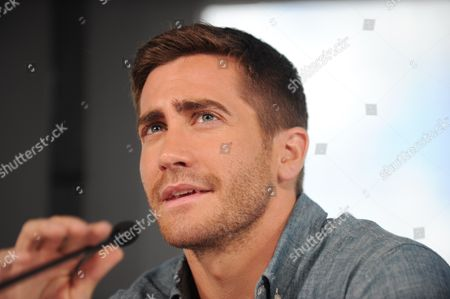 American Actor Jake Gyllenhaal at a Press Conference in Sydney Australia On 06 December 2010 Gyllenhall and Co-star Anne Hathaway Are in Australia to Promote Their New Film Love and Other Drugs