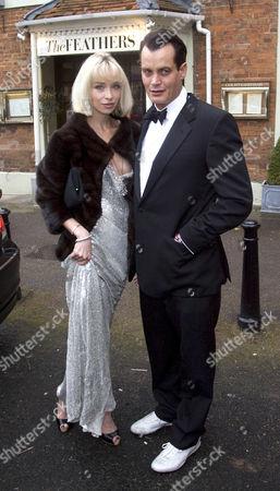 Matthew Mellon and girlfriend Noelle Reno..