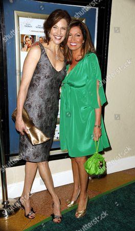 Brenda Strong and Lisa Guerrero