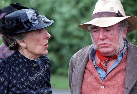 Stock Picture of 'My Uncle Silas'   TV Janet Henfrey and Albert Finney