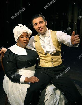 NaTasha Yvette Williams ( Mammy ) Darius Danesh ( Rhett Butler )