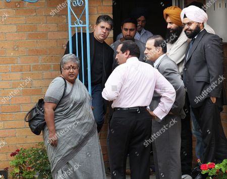 Stock Picture of The Indian Consul General to Australia Anita Nayar (l) Visits the Parents of Three-year-old Indian Boy Gurshan Singh at Relative's Home in Thomastown Melbourne Australia On 05 March 2010 Three-year-old Gurshan Singh Went Missing From a House in Lalor On 04 March 2010 and His Body Was Later Found Beside a Road in Oaklands Junction Deputy Police Commissioner Sir Ken Jones Said Police Were Treating the Incident As a Homicide and That He Had Assured India That Police Would Do Everything Possible to Find out What Happened