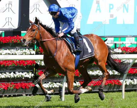It's Somewhat Ridden by James Mcdonald Wins the Apn Outdoor Craven Plate Race During the Tab Epsom Day at Randwick Racecourse in Sydney New South Wales Australia 01 October 2016