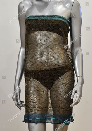 Editorial picture of Britain Auction Kate Middleton See - through Dress - Mar 2011