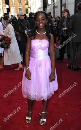 Cast Member Sanyu Joanita Kintu Arrives at the Uk Family Gala Premiere of 'Africa United' at the Odeon Leicester Square in London Britian 17 October 2010 the Movie by British Director Debs Gardner-paterson Tells the Story of Two Young Rwandan Boys Fabrice who Comes From a Privileged Background and Dudu who is From an Impoverished Neighborhood They Both Set out on a Long Journey Together to Make It to South Africa in Time For the Soccer World Cup United Kingdom London