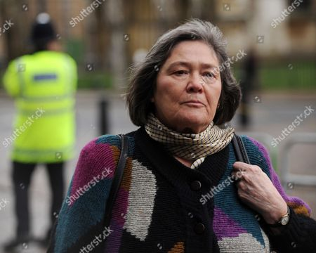 Clare Short Arrives at the Iraq Inquiry in London Britain 02 February 2010 Tony Blair's Cabinet was 'Misled' Into Thinking the War with Iraq was Legal Ex-international Development Secretary Clare Short Told the Btitain's Inquiry 02 February Clare Short Said Attorney General Lord Goldsmith Had Been 'Leaned On' to Change His Advice Before the Invasion Mr Blair 'And His Mates' Decided War was Necessary and 'Everything was Done on a Wing and a Prayer' Ms Short Said Short Quit the Cabinet Two Months After the March 2003 Invasion in Protest at Planning For the War's Aftermath United Kingdom London