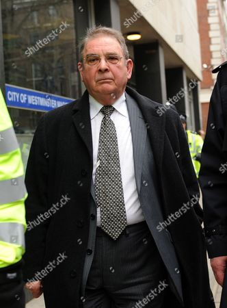 Conservative Peer Lord Hanningfield Departs the Magistrates Court in London Britain 11 March 2010 Hanningfield Appeared in Court For the First Time Accused of Falsely Claiming Expenses Also Three Labour Mps Scunthorpe Mp Elliott Morley Bury North Mp David Chaytor and Livingston Mp Jim Devine Were Charged After an Inquiry by Scotland Yard United Kingdom London