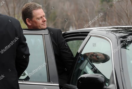Danish Minister of Justice Lars Barfoed Leaves the Wilson House at the Conclusion of the Arctic Ocean Foreign Ministers Meeting in Chelsea Quebec Canada 29 March 2010 the Dignitaries Are Meeting to Consult on Critical Political Issues Stability in Afghanistan and Pakistan Arms Control Disarmament and Other Security Vulnerabilities Canada Chelsea
